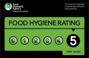 Food Hygiene Rating: 5